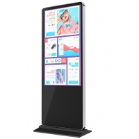 "Quality 49"" Inch Indoor Floor Stand LCD Display, Digital Display, LCD Advertising Display Digital Signage for sale"