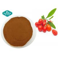 Quality Goji Berry Wolfberry Extract Lycium Barbarum L with Polysaccharides 10-50% for sale