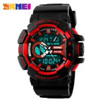 Quality Men Big Dial Analog Digital Wrist Watch With Alarm Waterproof for sale