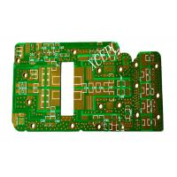 Quality Fr4 High Frequency PCB Circuit Green For Wireless Communication Field for sale