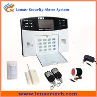 China LCD Two-way GSM Alarm System on sale