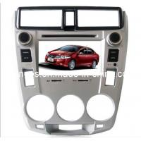 Quality Double DIN 7 Inch Digital Touch Screen Car DVD Player with GPS for Honda City with Hebtew, Dual Zone for sale