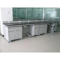Quality College School Lab Becnh Furniture with Reagent Rack for sale