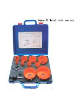 Quality JWT 14PCS M42 HSS-Bi Metal Hole Saw-professional manufacture for sale