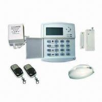 Quality Home Security System/GSM Alarm System, Wireless, with LCD for sale