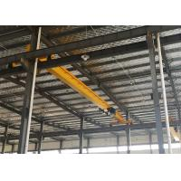 Quality Single girder overhead travelling crane with wire rope electric hoists for sale