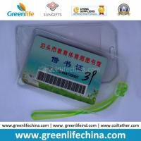 Quality Cheapest Factory Supply Soft PVC Card Holder for Luggage Tag for sale