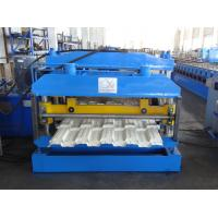 Quality Custom Fluted Color Steel Roof Tile Roll Forming Machine for sale