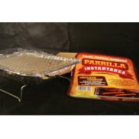 China Camping BBQ charcoal grill for one time use on sale