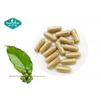 Quality Green Safe Effective Weight Loss Pills Coffee Bean Extract 400mg Capsules with 50% Chlorogenic Acid for sale