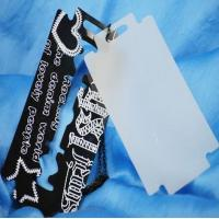 Quality fashion canvas hang tag in apparel for sale