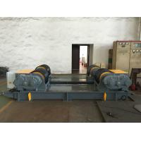 Quality Dual PU Wheel Welding Pipe Turning Rolls / Conventional Welding Rotator Loading 200T Pressure Vessel for sale