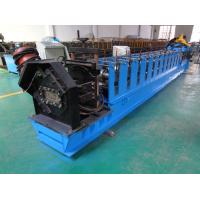 Quality C Channel Roll Forming Machine With Continuous Punching Holes And Slots for sale