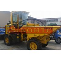 Quality Construction Site Skip 5 Ton Dumper , Mini 2 Axles Articulated 4x4 Dumper for sale