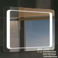 Buy cheap Stainless Frame Hotel Bathroom Mirror With Radio , Magnifying Custom Backlit from wholesalers