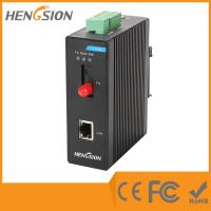 China 100M Industrial Managed Ethernet Switch , 1 fiber optic port Dinrail gigabit switch on sale