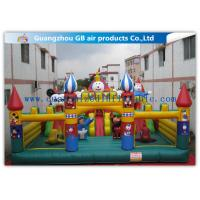 China Garden Backyard Kids Inflatable Amusement Park Playland For Outdoor Sports on sale