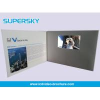 Quality Multi Player Automatic Video Gift Card Video Leather Production Business Cards for sale