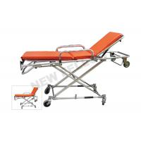 Quality Multi - Lever Aluminum Alloy X - frame First Aid Ambulance Stretcher for sale