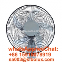 Quality 18 inch electric plastic wall fan with remote control /Ventilador de pared/office and home appliances for sale