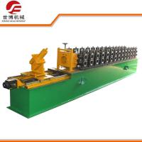 China Omega Type Steel Stud Roll Forming Machine 0.3 - 0.8 Mm Thickness ISO 9001 Approved on sale