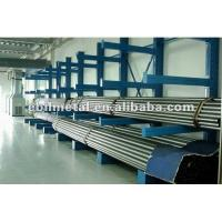 Quality Yellow / Orange  Cantilever Pipe Storage Racks  Corrosion Protection  Steel for sale
