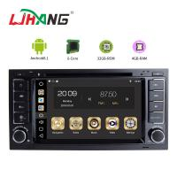 Quality Stereo Audio Vw Golf Dvd Player , Multimedia Mirror Link In Dash Car Dvd Player for sale