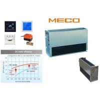 Quality High Rigidity Chilled Water Fan Coil Unit No Casing Type 800CFM 2TR With Metal Blower for sale