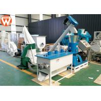 Buy cheap 440V Poultry Feed Processing Plant 50 Hz 3 Phase 600 - 800 Kg/H For Wheat Straw from wholesalers