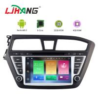 Quality Touch Screen Android 8.0 Hyundai Car DVD Player With Wifi BT GPS AUX Video for sale