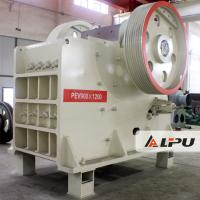 Quality PEV900×1200 Double Toggle Jaw Crusher Stone Crusher Machines 48t for sale