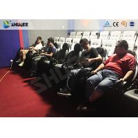 Quality 5D Cinema Equipment Theater Seating Chairs For Amusement Park 110V / 220V / 380V for sale