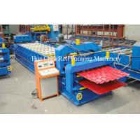 Best Wall Panel / Roof Tile Double Layer Metal Roll Forming Machine 380V 50Hz 3 Phase wholesale