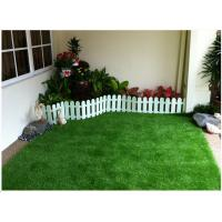 Stem Shape Synthetic Lawn For Landscaping 30mm 14700 Tufts / Sqm UV Resistant