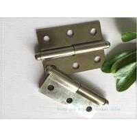 Quality Ball Tip Nickel Plated Commercial Door Hinges Detachable Movable for sale