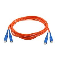 Quality SC / FC / ST / LC Connector Fiber Optic Adapters / 3m Fiber Optic Patch Cord Duplex for sale