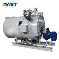 Quality 4t/h Gas Oil Boiler 334Nm3/h Gas Consumption for Dyeing industry for sale