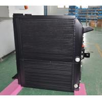 Quality Aluminum Combined oil cooler radiator for large complex engine cooling solutions for sale