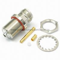 Quality RF Coaxial Connector for RG174/316 Cable with N B/H Jack and Durability Screw Mechanism for sale