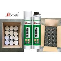 China Expanding Multi Purpose PU Foam Curtain Wall Filling Roof 65L One Can 750ml on sale
