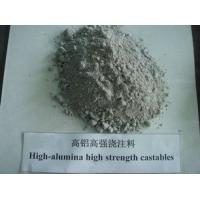 Quality high alumina high strehgth refractory castable for sale