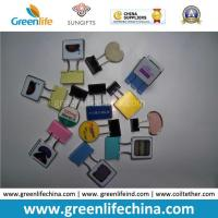 Quality Plastic Binder Promotional Clip W/Customized Logo Good Office Supply for sale
