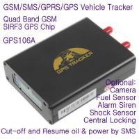 China GPS106 Car Auto Taxi Truck Fleet GPS GSM Tracker W/ Photo Snapshot & Online GPRS Tracking on sale