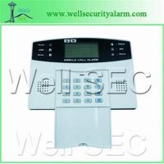 Quality Un nuevo sistema de alarma inalambrica GSM LCD, WL1014 for sale