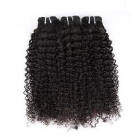 "Quality Natural Color Peruvian Body Wave Hair Bundles Curly Dancing And Soft 10"" To 30"" Stock for sale"
