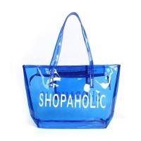 Quality Colorful Plastic PVC Handle Shopping Bag 0.15~0.8mm Thickness Custom Printing for sale