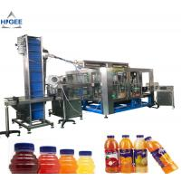 Quality 304 Stainless Steel Juice Filling Machine 2.5Kw With Screw Capping Function for sale