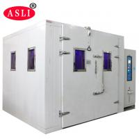 Buy cheap Sunshine Simulation Uv / Xenon Aging Room Walk In Stability Chamber For Color Fastness Test from wholesalers