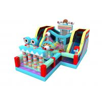 China Factory Cheap Bouncy Jumping Castles Slides Kids Inflatable Lego Parks Bounce Slide on sale
