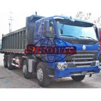 Quality 12 Wheelers 4 Axle Dump Truck ,LHD RHD HOWO A7 Strengthened 8x4 Tipper Truck for sale